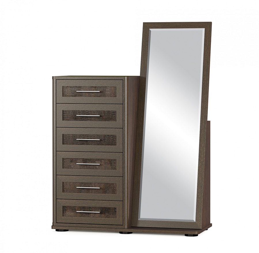 Cupboards Commodes Chest of drawers with mirror TOKO-4 Sale Furniture
