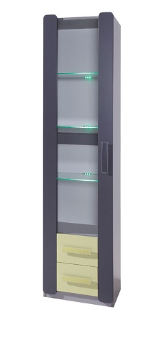 Modern show case for 42 inches tv Show Case LIDO LWIT1D