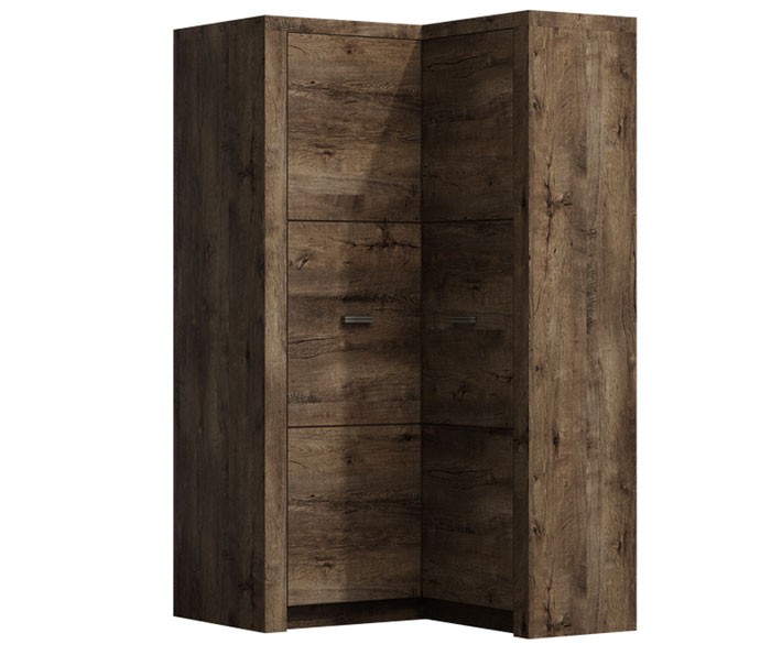 Angular closets - Сostly Corner Wardrobe Indinapolis I-14 Sale Furniture
