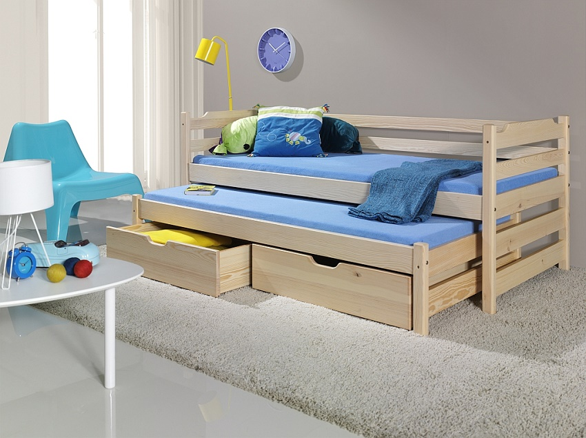 Available furniture Bunk Bed MARCY 180*80 (WANILA) Sale Furniture