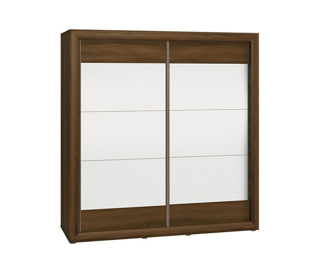 Wardrobes with sliding doors - Novelts Wardrobe Mocca18L Sale Furniture