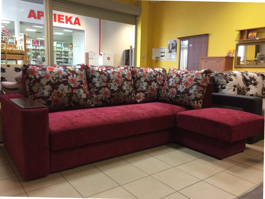 Corner sofa Valmiera-2 - Sofas and armchairs  - Novelts - Sale Furniture