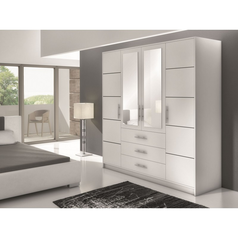Wardrobes with sliding doors - Novelts Wardrobe BALI 4 Sale Furniture