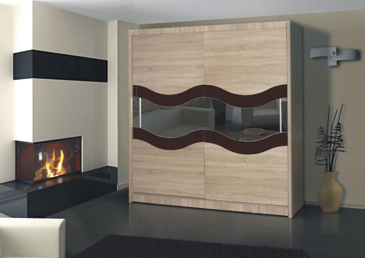 Wardrobes with sliding doors - Novelts Wardrobe Geneva 9 Sale Furniture