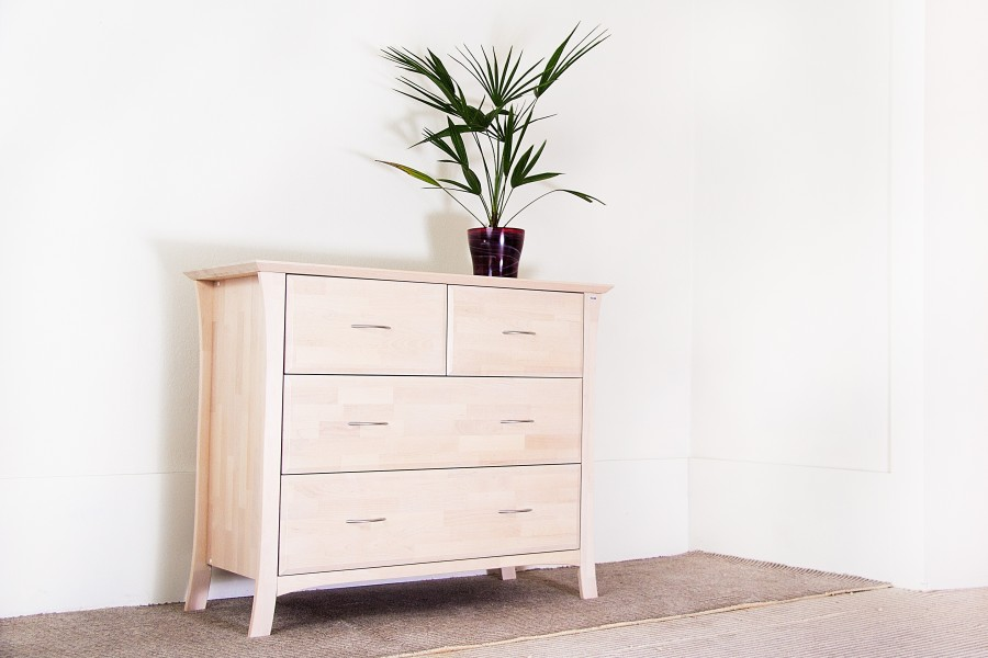 Chest of Drawers Niko (birch) - Dressers  - Novelts - Sale Furniture